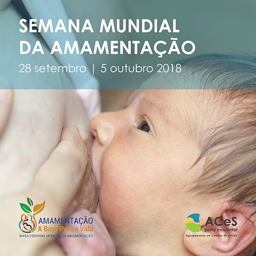 Semana Mundial de Aleitamento Materno 2018