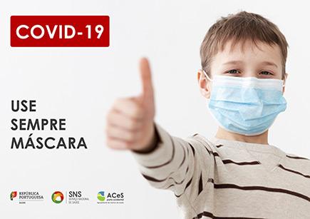 COVID-19 Usar máscara