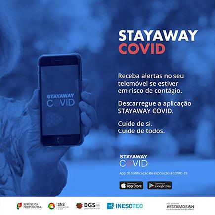 Aplicação StayAway Covid