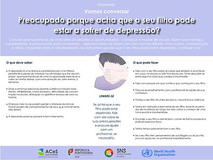 Depressão crianças