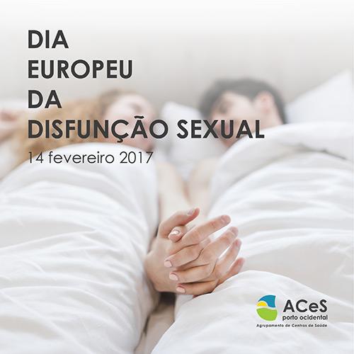 Dia Europeu da Disfunção Sexual 2017