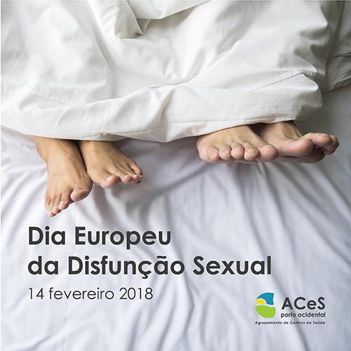 Dia Europeu da Disfunção Sexual 2018