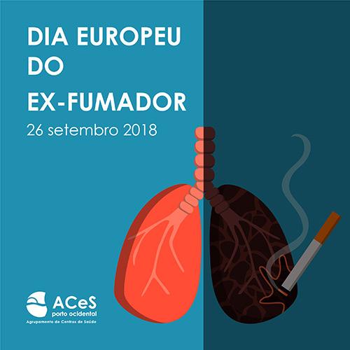 Dia Europeu do Ex-Fumador 2018