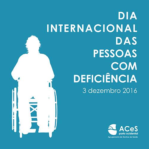 Dia Internacional das Pessoas com Deficiência 2016