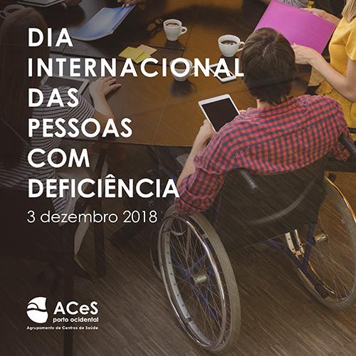 Dia Internacional das Pessoas com Deficiência 2018