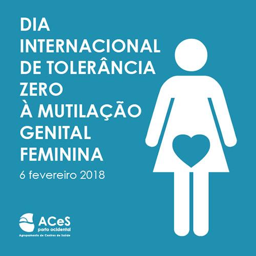Dia Internacional de Tolerância Zero à Mutilação Genital Feminina 2018