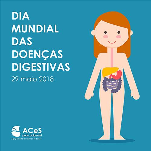 Dia Mundial das Doenças Digestivas 2018