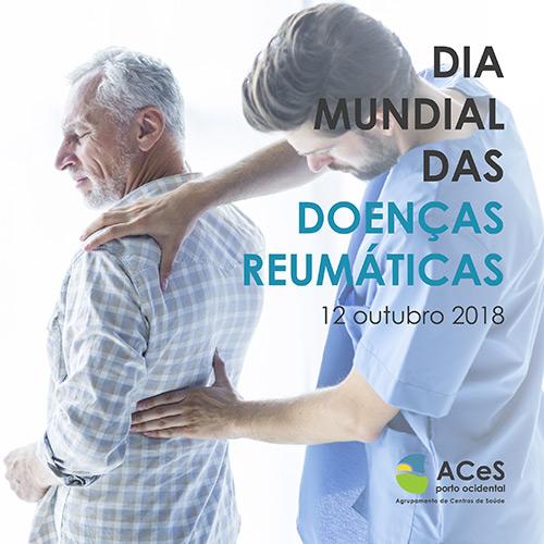Dia Mundial das Doenças Reumáticas 2018