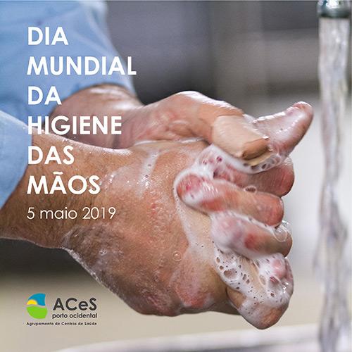 Dia Mundial da Higiene das Mãos 2019