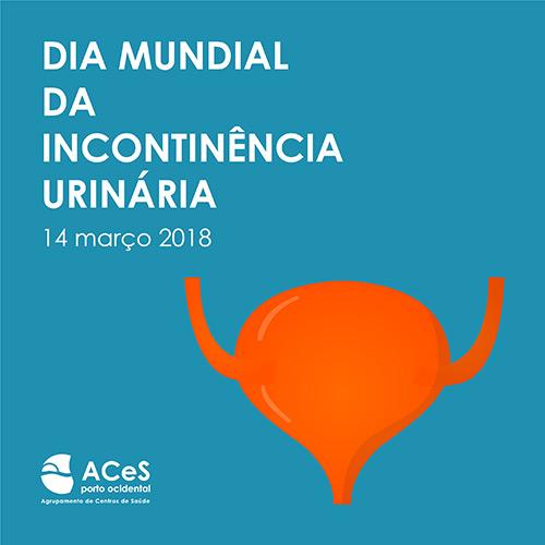 Dia Mundial da Incontinência Urinária 2018