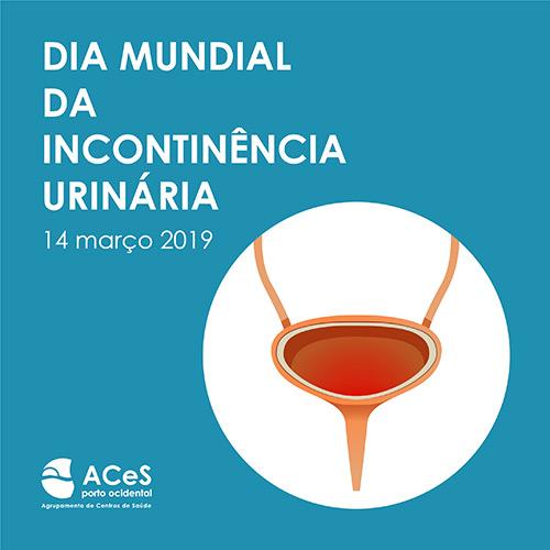 Dia Mundial da Incontinência Urinária 2019