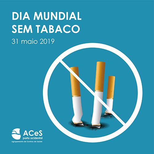 Dia Mundial Sem Tabaco 2019