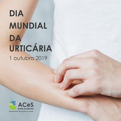 Dia Mundial da Urticária 2019
