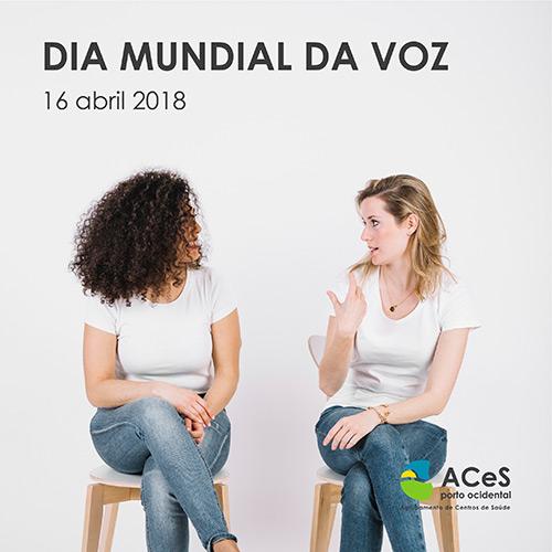 Dia Mundial da Voz 2018