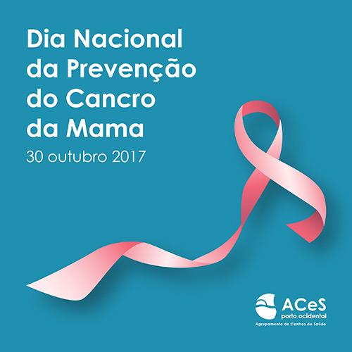 Dia Nacional da Prevenção do Cancro da Mama 2017