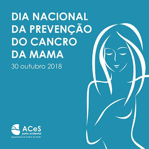 Dia Nacional da Prevenção do Cancro da Mama 2018