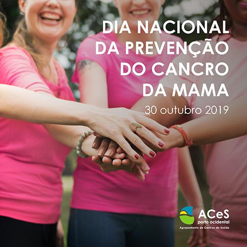 Dia Nacional da Prevenção do Cancro da Mama 2019