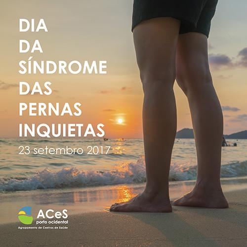 Dia da Síndrome das Pernas Inquietas 2017