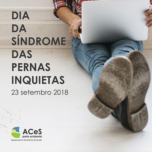 Dia da Síndrome das Pernas Inquietas 2018