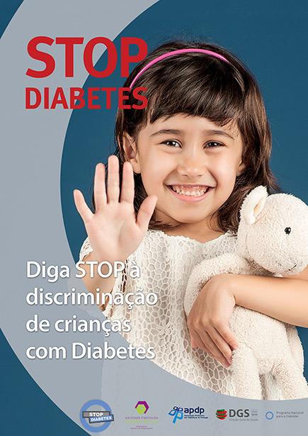 Diga Stop à Discriminação de Crianças com Diabetes