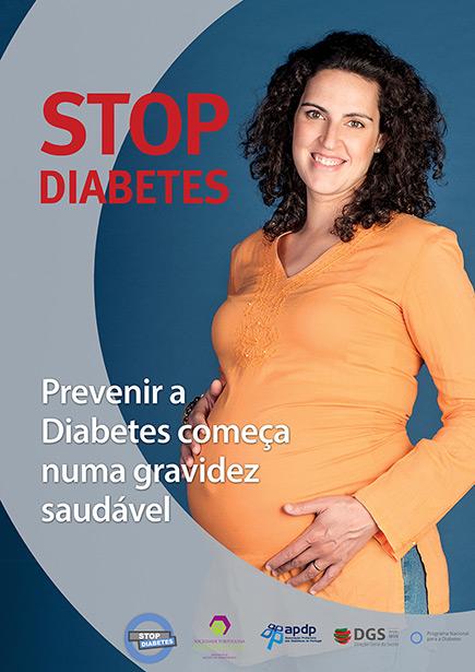 Prevenir a Diabetes começa numa gravidez saudável