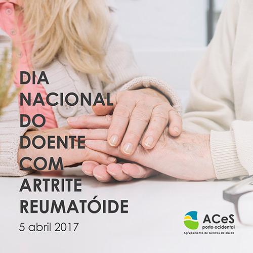 Dia Nacional do Doente com Artrite Reumatóide 2017