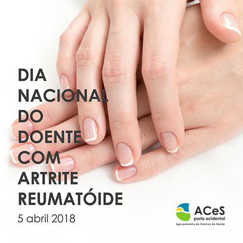 Dia Nacional do Doente com Artrite Reumatóide 2018