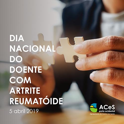Dia Nacional do Doente com Artrite Reumatóide 2019